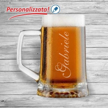 Boccale birra personalizzato
